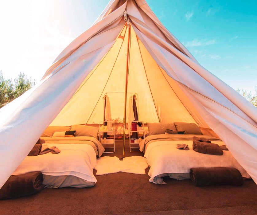 glamping valle de guadalupe